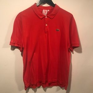 Lacoste LIVE Red Polo